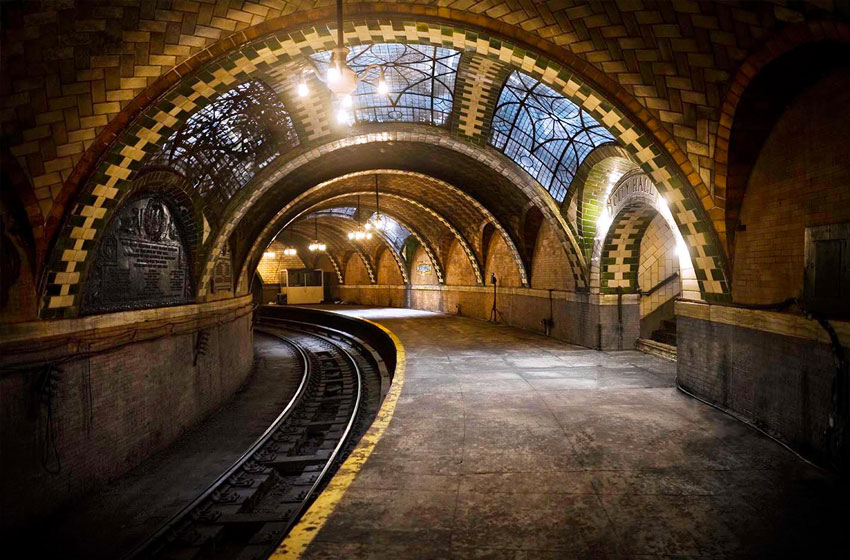 visiter le new york insolite city hall station
