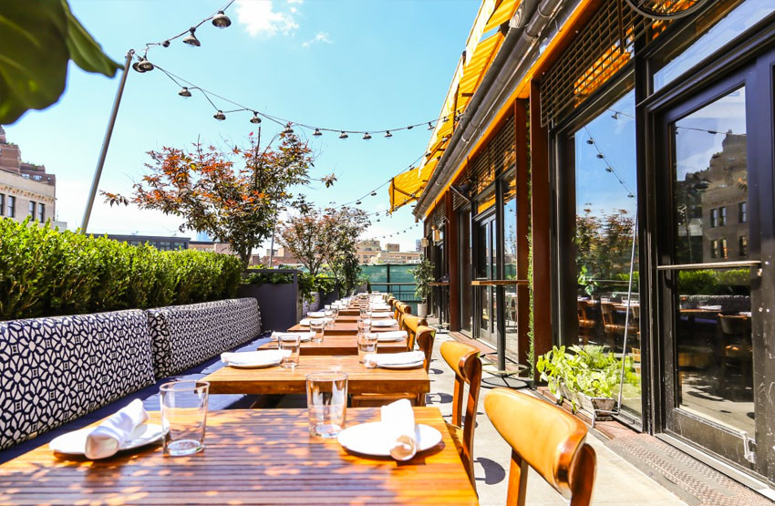 catch restaurant meilleurs rooftop new york 2017