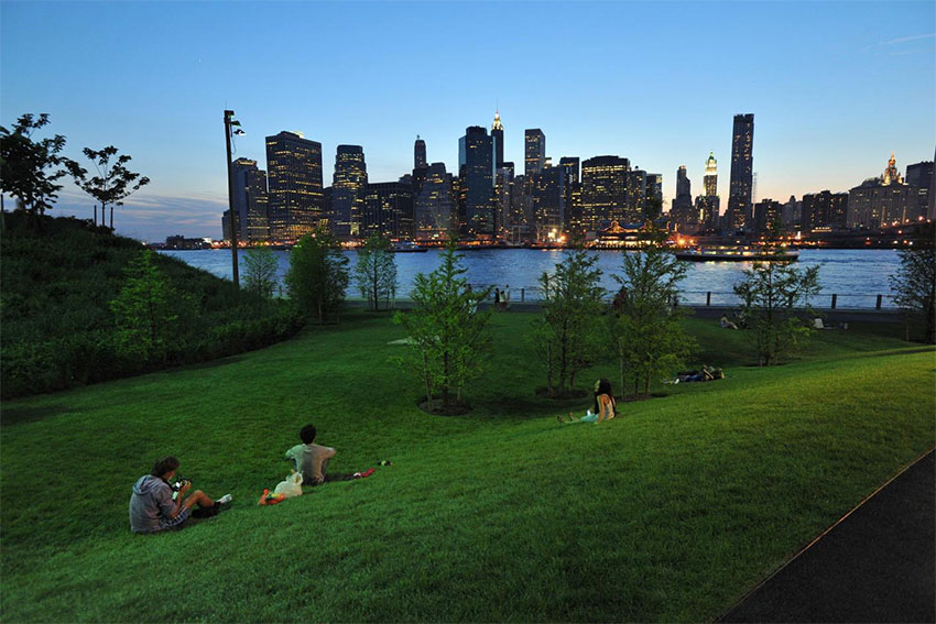 parcs de new york brooklyn bridge park