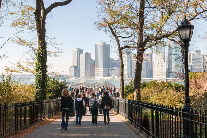 promenade brooklyn heights sortie new york