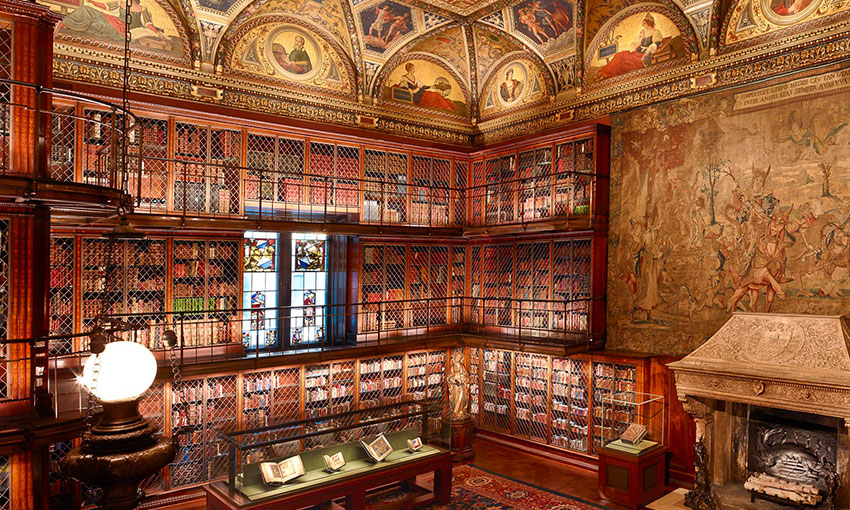 new york insolite morgan library